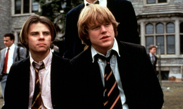 Philip Seymour Hoffman, right, in the film Scent Of A Woman, 1992.