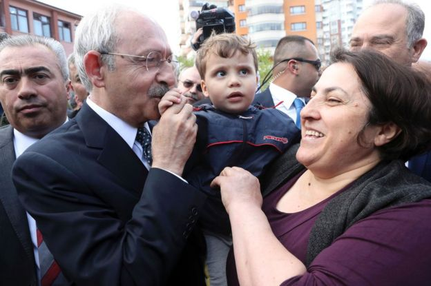 The leader of Turkey's main opposition Republican People